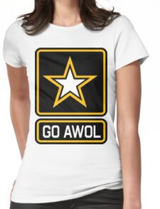 GO AWOL Womens Fitted T-Shirt