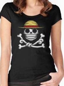 JOLLY LUFFY Women's Fitted Scoop T-Shirt