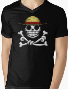 JOLLY LUFFY Mens V-Neck T-Shirt