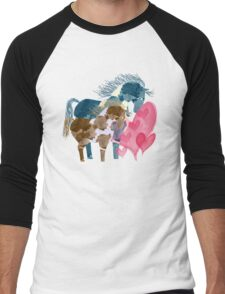Pinto Love Men's Baseball ¾ T-Shirt