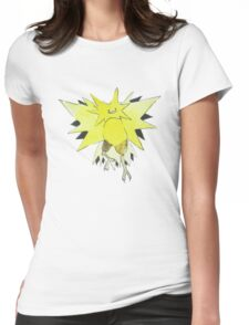 Ditto Zapdos Womens Fitted T-Shirt
