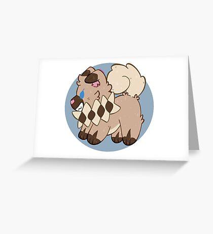 Iwanko - pokemon Greeting Card