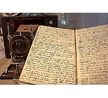 Prospector's Journal Photographic Print