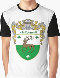 McConnell Coat of Arms/Family Crest Graphic T-Shirt
