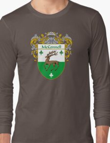 McConnell Coat of Arms/Family Crest Long Sleeve T-Shirt