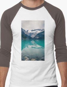 Landscape Mountain Men's Baseball ¾ T-Shirt