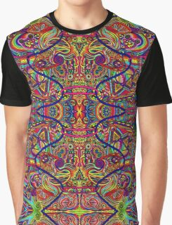 Psychedelic Abstract colourful work 236 Graphic T-Shirt