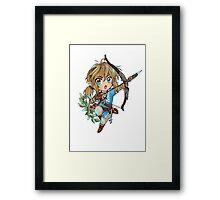 Link (zelda U/ NX) Framed Print