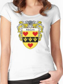 McCord Coat of Arms/Family Crest Women's Fitted Scoop T-Shirt