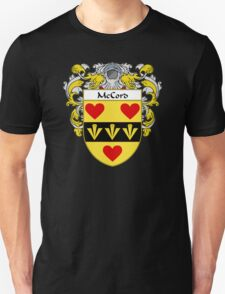 McCord Coat of Arms/Family Crest Unisex T-Shirt