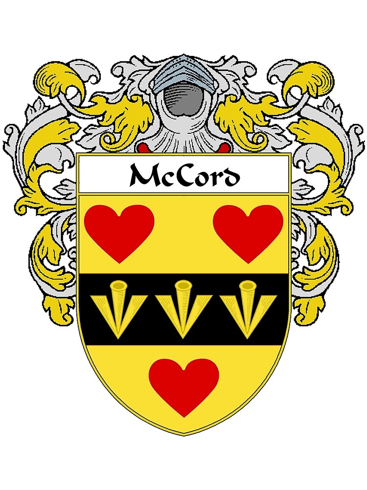 McCord Coat of Arms/Family Crest by William Martin