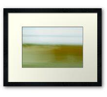 Paysage (58) - Les schorres (2) Framed Print