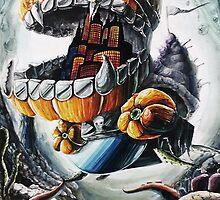 Pumpkin Pirate Submarine by ArielleAlysse