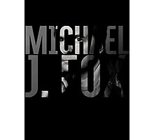Michael J Fox Photographic Print