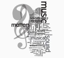 Music Matters One Piece - Short Sleeve