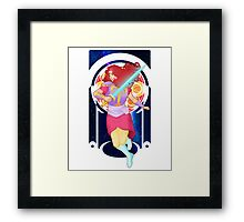 A Star once upon a Phantasy Framed Print