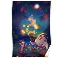 Bard and Lulu - League of legends Poster