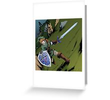 Link Our Hero Greeting Card