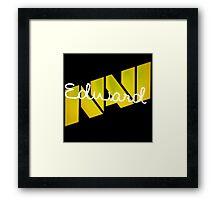 Na'Vi Edward | CS:GO Pros Framed Print