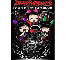DR Fan Club (Death Rabbits x UFO's) Photographic Print