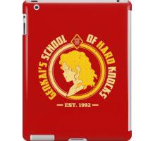 Genkai's School of Hard Knocks iPad Case/Skin