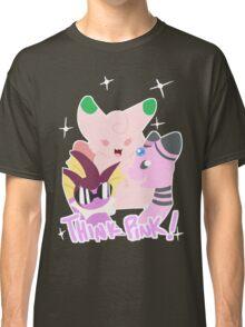 Think Pink - Shiny Pokemon Classic T-Shirt
