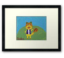 Animal Crossing Series- Sheldon Framed Print