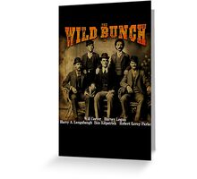 Butch Cassidy's Wild Bunch Greeting Card