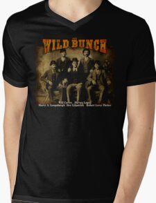 Butch Cassidy's Wild Bunch Mens V-Neck T-Shirt