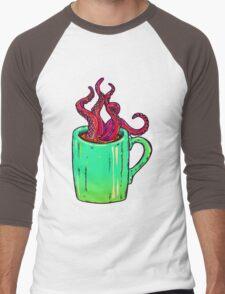 Octopus Coffee Men's Baseball ¾ T-Shirt
