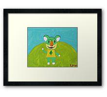 Animal Crossing Series- Lyman Framed Print