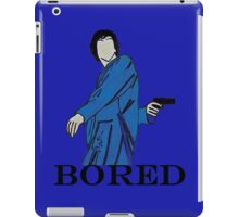 Bored Sherlock. iPad Case/Skin