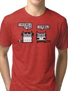I Meow You - Cat Wars Tri-blend T-Shirt