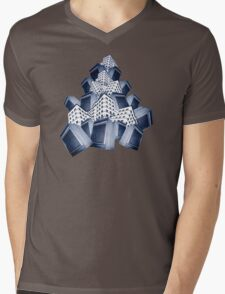 Tower of. . . Mens V-Neck T-Shirt