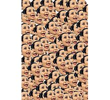 Kim Kardashian Ugly Face Photographic Print
