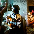 The Spanish Guitarist by Christina Backus