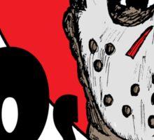 I Heart 80s Horror Sticker