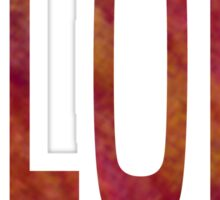 Elon University - Tall Font Sticker