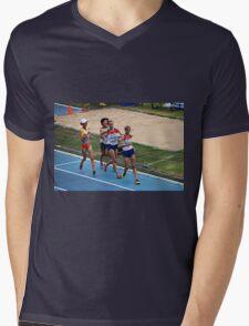 World IAAF Under 18 Women's 5000M Race Walk 2015 II Mens V-Neck T-Shirt