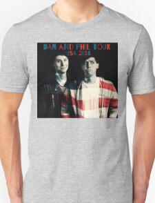 Dan and Phil USA Tour 2016 Unisex T-Shirt