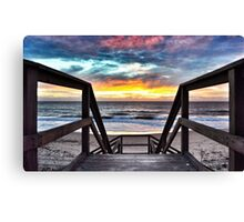 Cool Evening at Dalyellup Canvas Print