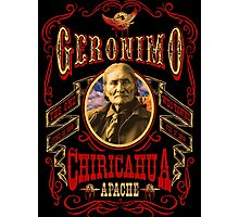 Apache Geronimo Native American T-Shirt Photographic Print