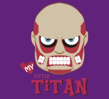MY LITTLE TITAN by TheBeardedPen
