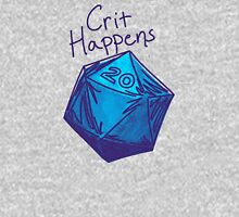 Crit Happens D20 Gamer | Natural 20 Unisex T-Shirt