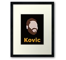 Adam Kovic Framed Print