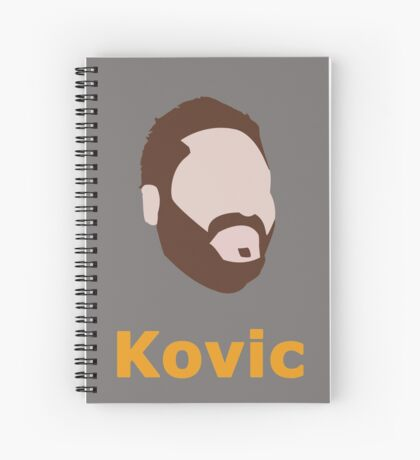 Adam Kovic Spiral Notebook