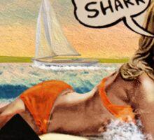 Jaws Amity Island Sticker