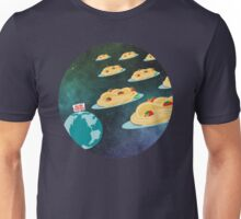 Space invader spaghetti welcome overlords Unisex T-Shirt