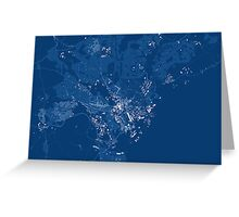 Cardiff Minimal Map Greeting Card