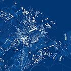 Cardiff Minimal Map by Marek M